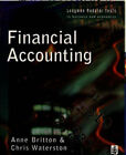 Financial Accounting by Christopher Waterson, Anne Britton (Paperback, 1996)