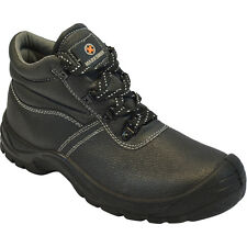 3b2defb57ac59b item 6   MEN SAFETY BOOTS LEATHER STEEL TOE CAP ANKLE TRAINERS HIKING SHOES  SIZE 6-13UK -  MEN SAFETY BOOTS LEATHER STEEL TOE CAP ANKLE TRAINERS HIKING  ...