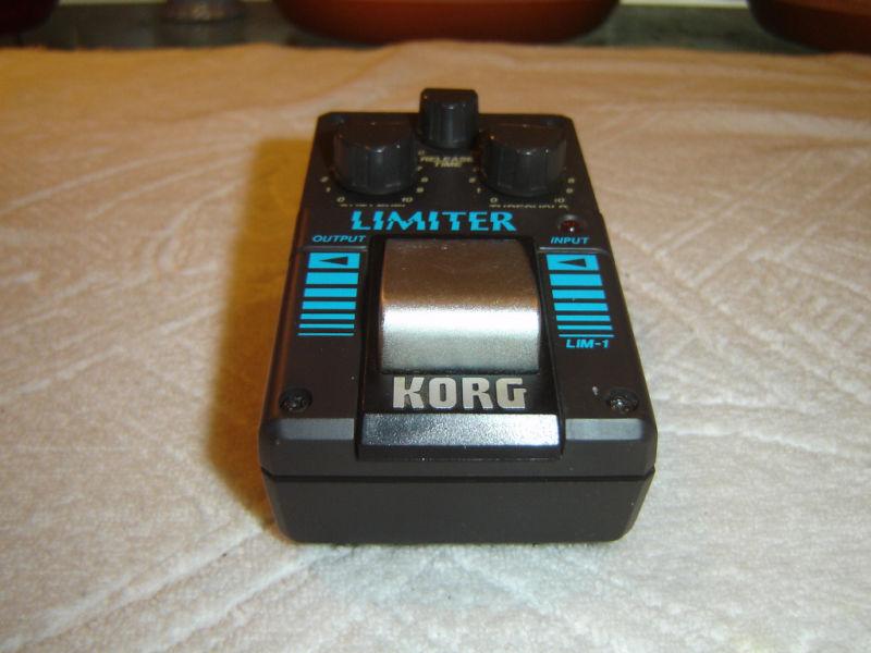 Korg LIM-1 Limiter, Vintage Guitar Pedal