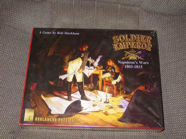 Avalanche Press - Soldier Emperor game - Napoleon's Wars - 1803-1815 (SEALED)
