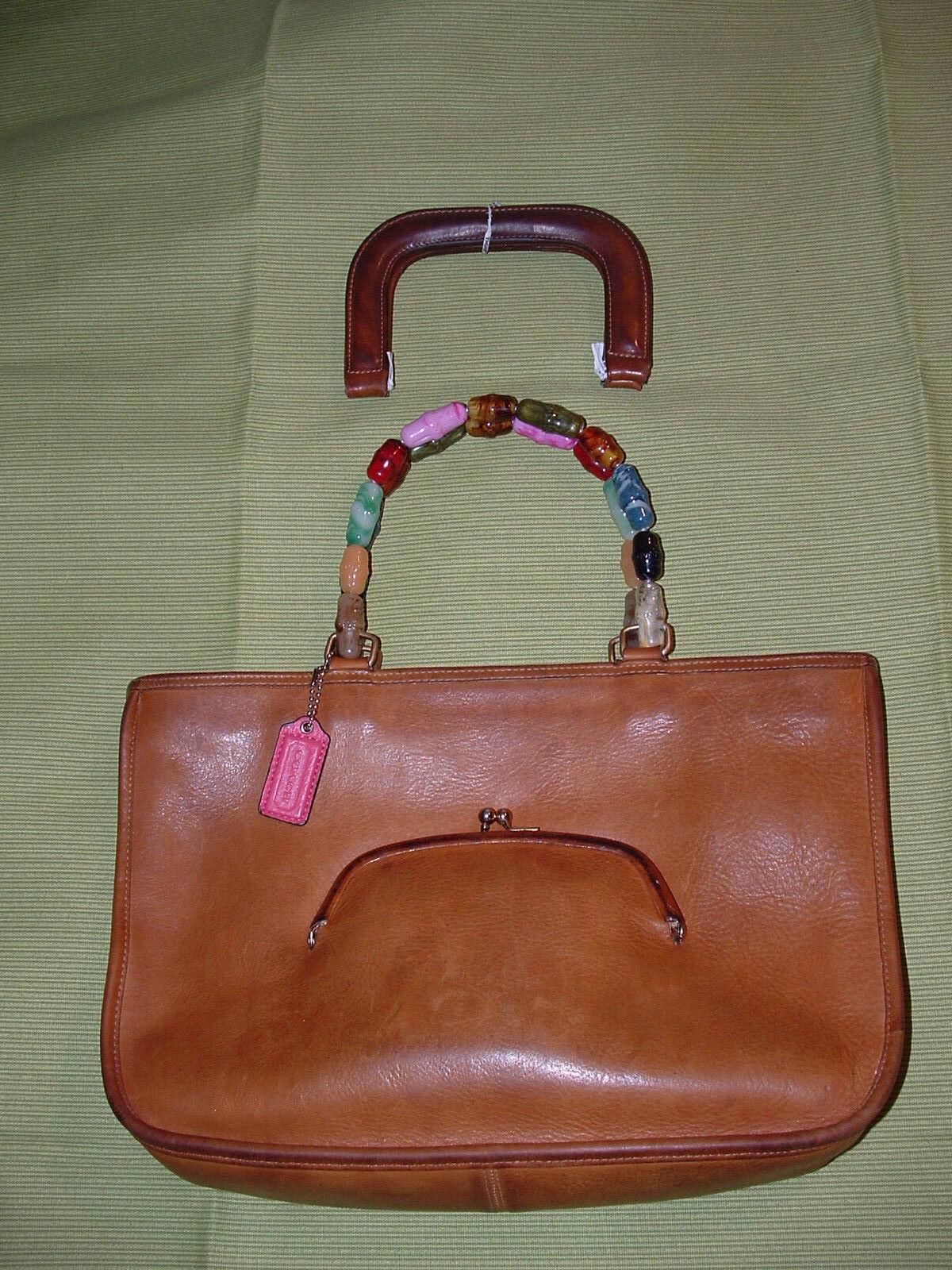 Custom vintage COACH Bonnie Cashin satchel VGC **… - image 9