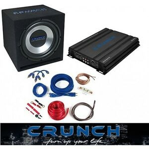 CRUNCH-CBP-1000-BASSPACK-4CH-Basspaket-1000-W-Ground-Pounder-Serie-CBP1000