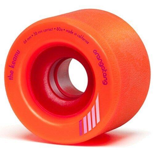 Orangatang   Keanu Centreset 66mm Longboard Wheels - orange. Orangatang Wheels  enjoy saving 30-50% off