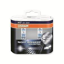 OSRAM NIGHT BREAKER H7 HALOGENLAMPE FERNSCHEINWERFER 12V55W+110% PX26D (2ER)