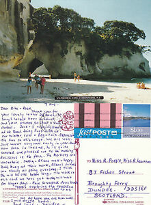 1990-039-s-CATHEDRAL-CAVE-COROMANDEL-NEW-ZEALAND-COLOUR-POSTCARD