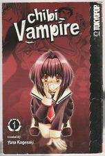 Chibi Vampire Vol 1 Yuna Kagesaki Manga Graphic Comic Novel Book Tokyopop