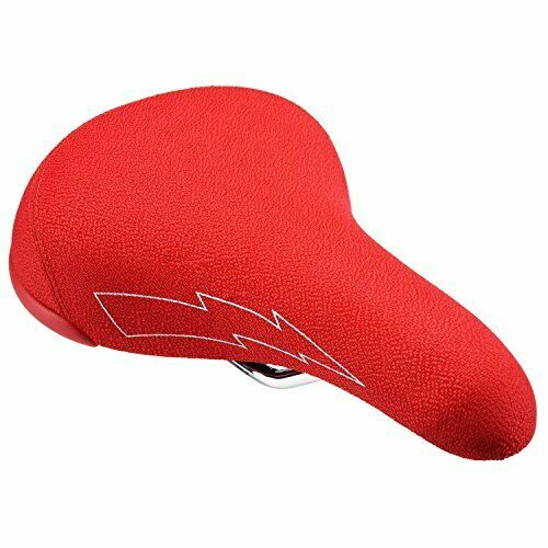 NEW SE Racing Flyer Railed Saddle Red Padded Seat