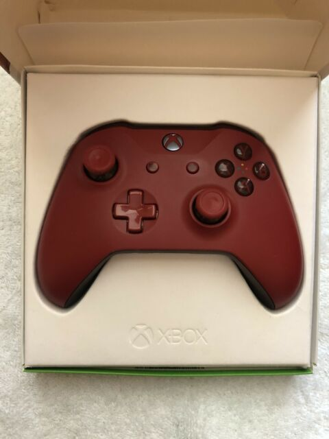 NEW Microsoft Xbox One Wireless Controller, Red, WL3-00027