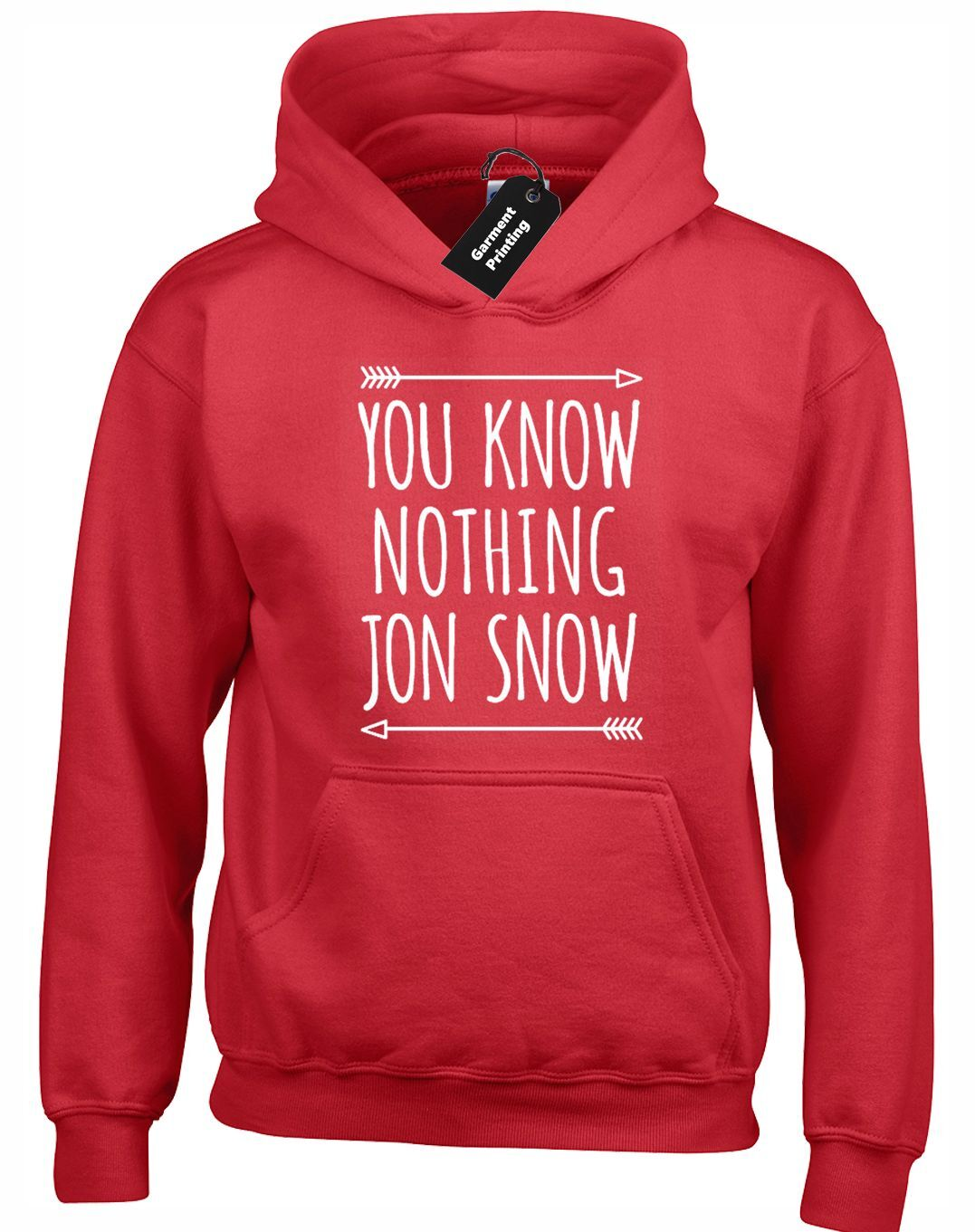 THERE IS ONLY ONE GOD HOODY HOODIE GAME OF ARYA JON SNOW THRONES DEATH TYRION