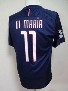100% authentic 970fe 6f30d Details about PSG Paris Saint Germain #11 Di Maria 100% Original Jersey  Shirt 2016/17 CL Home
