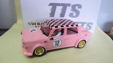 BRM 1:24 Slot Car   Simca 1000   N° 12  in pink  Ref.  BRT 03