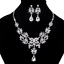 Fashion-Elegant-Women-Rhinestone-Crystal-Choker-Bib-Statement-Pendant-Necklace thumbnail 40