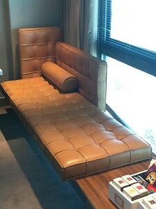 image is loading philippe starck leather sofa chaise tables by cassina - Chaise Starck