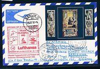 97650) LH Olympiade SF Berlin - Barcelona 25.7.92, Karte ab Malta