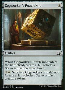 4x Cogworker's Puzzleknot | NM/M | Kaladesh | Magic MTG