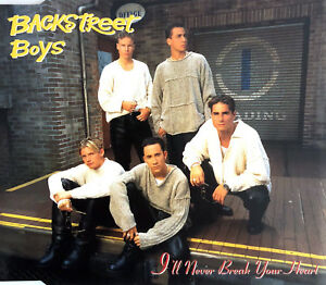 Backstreet-Boys-Maxi-CD-I-039-ll-Never-Break-Your-Heart-Europe-VG-VG
