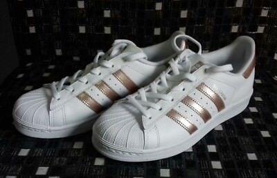 adidas superstar white rose gold