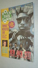 ROCK THIS TOWN NEERLANDAIS 55 (6/91) STING NEW JACK CITY ARNO IGGY POP MARLEY