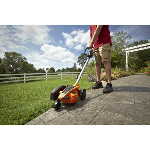 Worx WG896 12 Amp 7-1//2 in.// 14 lbs 2-in-1 Electric Lawn Edger// Trencher New
