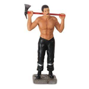 Feuerwehr Mann mit nacktem Oberkörper 19cm