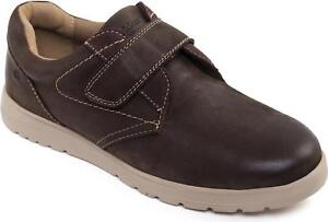 Fitting Cuir Chaussures Padders Large Redémarrez Large Fixer G Brun Touch Léger Homme qxBFO