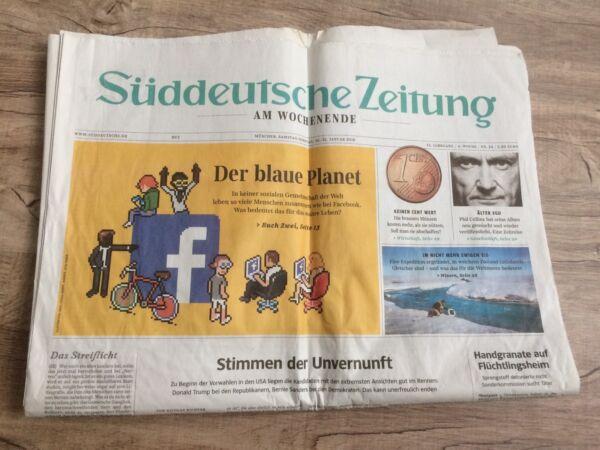 100% QualitäT Süddeutsche Zeitung Am Wochenende 30.31./1. 2016 Ein GefüHl Der Leichtigkeit Und Energie Erzeugen