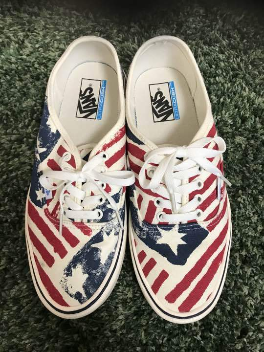 VANS sneakers gills authentic Stars and Stripes from japan (2282