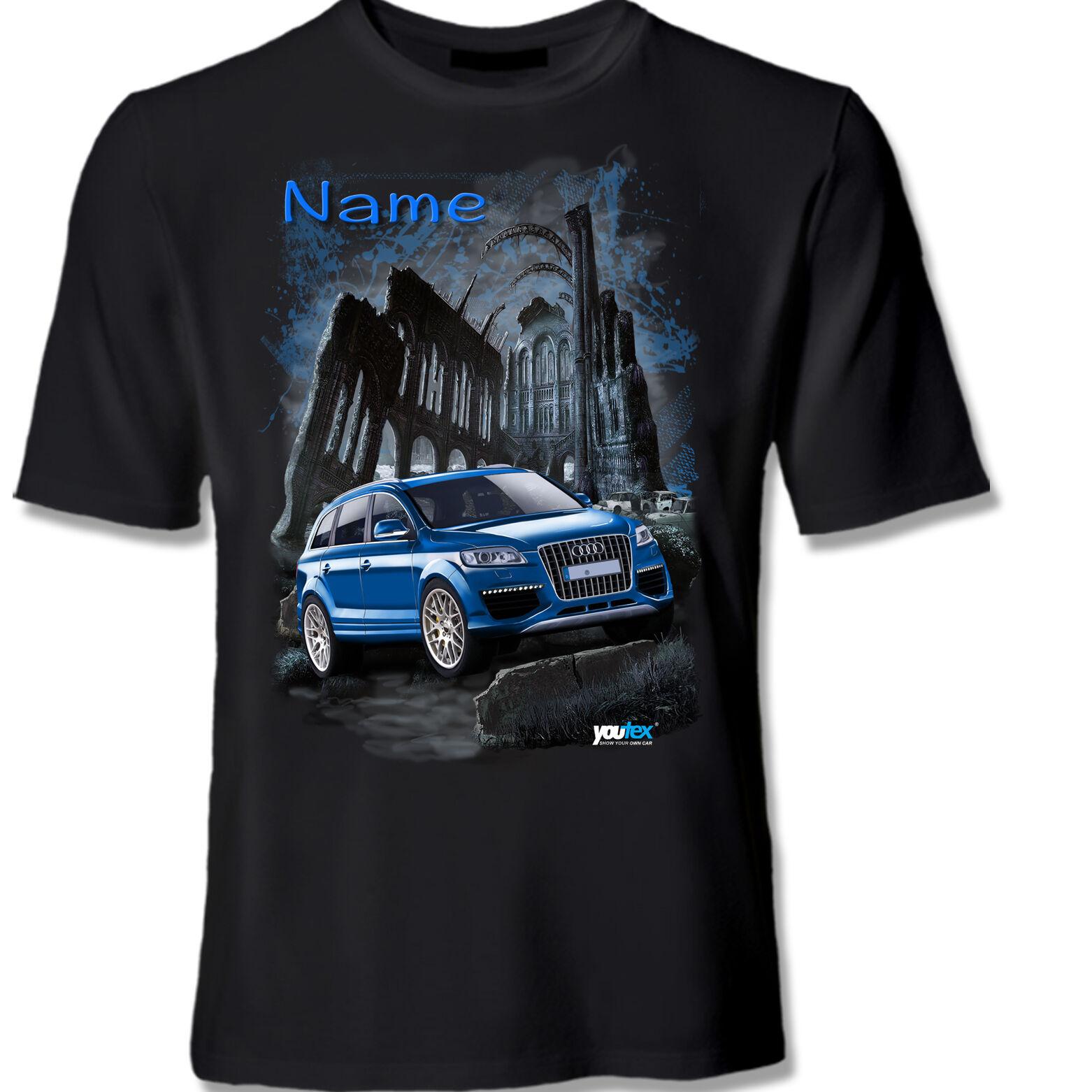 AUDI Q7 SUV  Tuning T Shirt Shirt T-Shirt original YOUTEX