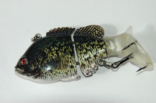 Leurre réaliste live articulé pêche mer rivière Oléron IØ 7,5cm 13g N°46