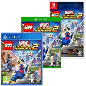 Lego Marvel Superheroes 2 For Ps4 Xbox One Nintendo Switch New