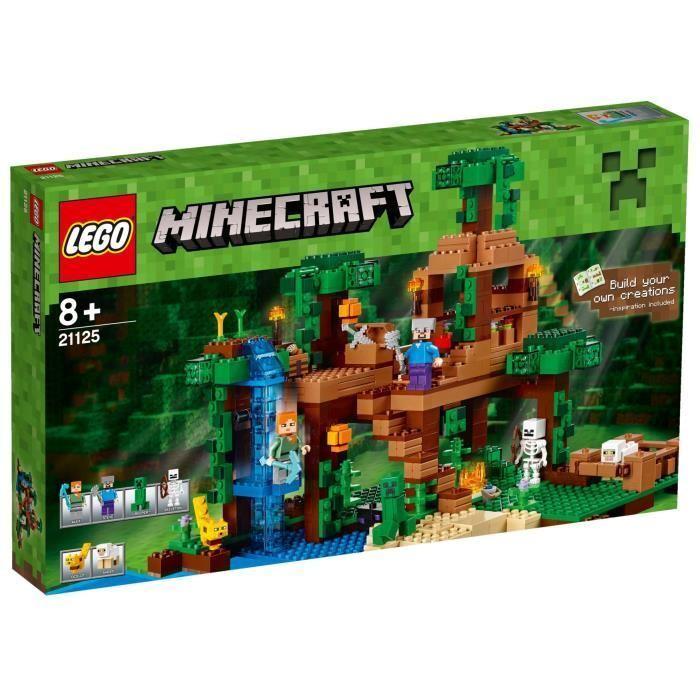 LEGO® Minecraft 21125 La Cabane dans l'Arbre de la Jungle - abimé