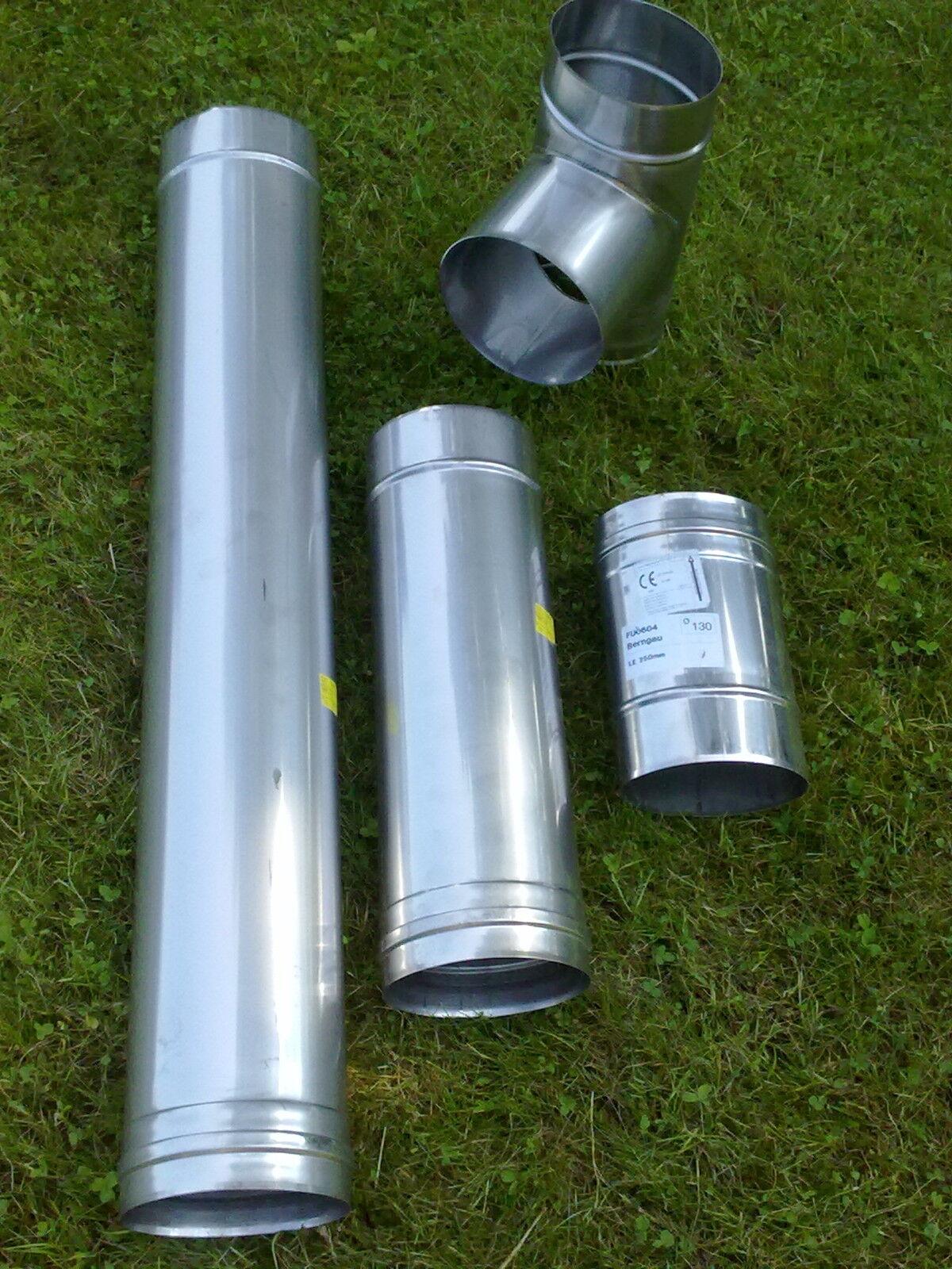 Schornsteinsanierung Edelstahl VA Schornstein 130mm oval 110x150 NEU jeremias