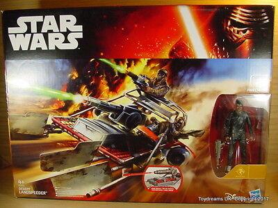 Disney STAR WARS la forza si sveglia Desert Landspeeder FINN Hasbro Action Figure