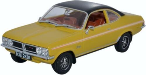 OXFORD DIECAST VF004 1:43 O SCALE Vauxhall Firenza Sport Sl Sunspot