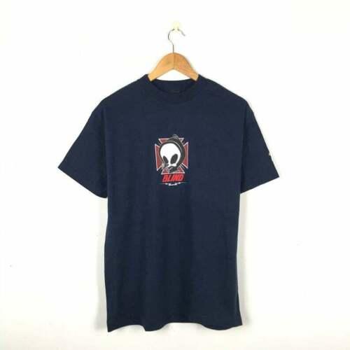 Blind Skateboard Jason Lee Dodo Skull Vintage T Shirt  Vintage Skate Tee  Powell