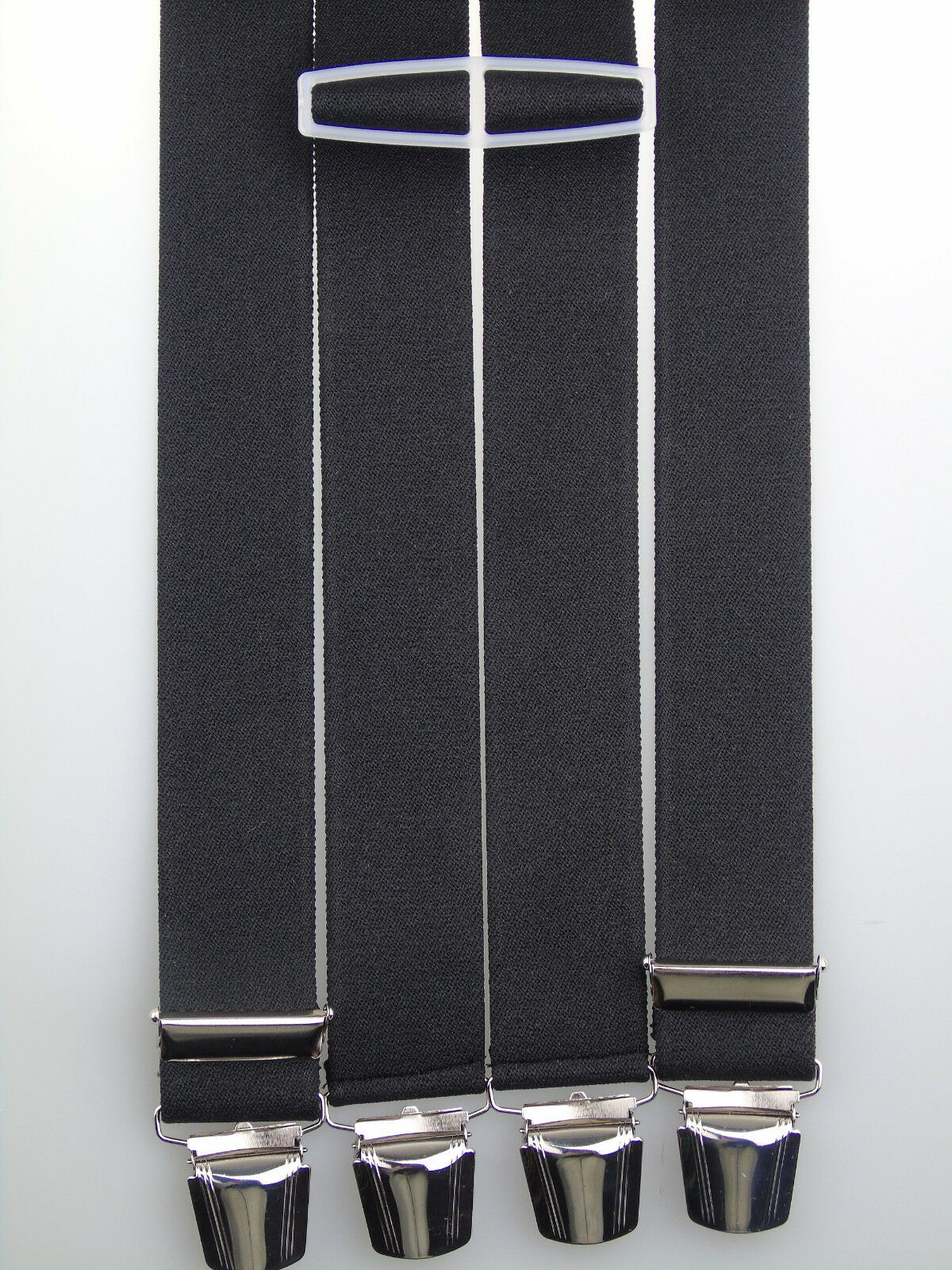 extra starke Hosenträger 35 mm breit versch. Farben wählen starke Clips