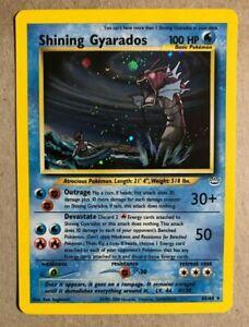 Shining Gyarados Neo Revelation Pokemon Card Secret 65//64 EXCELLENT