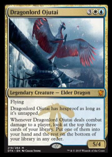 Dragonlord Ojutai x1 1x English -BFG- MTG Magic Dragons of Tarkir Near Mint