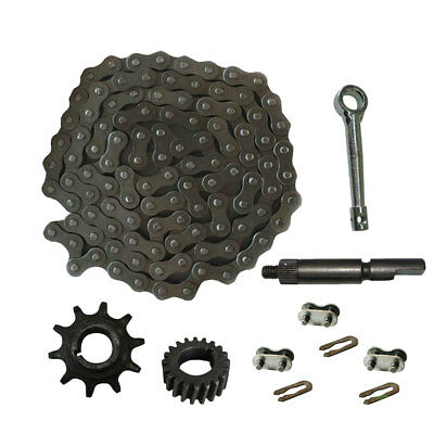 1 Set 415 Chain Master Link /& 415 Chain For 49//80cc Engine Motorized Bicycle