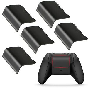 5-Xbox-One-Battery-Cover-Back-Lid-Wireless-Controller-Replacement-Black