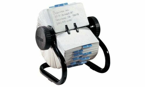 Rolodex Rollkartei Classic mini schwarz