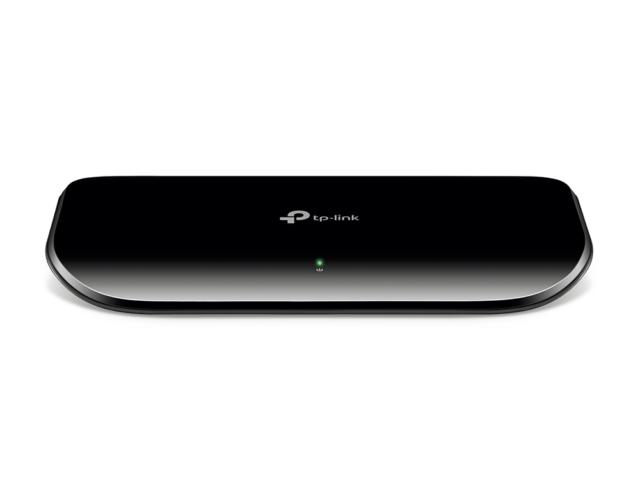 TP-LINK 8-port Desktop Gigabit Switch 8 10/100/1000M RJ45 ports TL-SG1008D