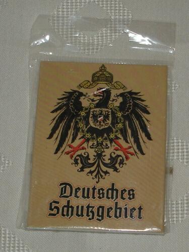 Magnet Deutsches Schutzgebiet beige