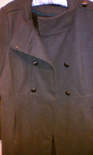 20 Polyester 48 Fastening Chest Grey Womens Size Button Inch George Collared B8q4wxwtH