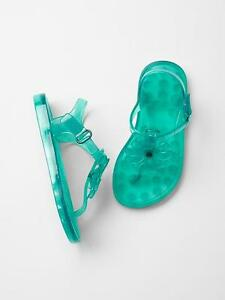 11 Clear Jelly Jellies Water Sandals Shoes GAP Kids Toddler Girls Size US 10