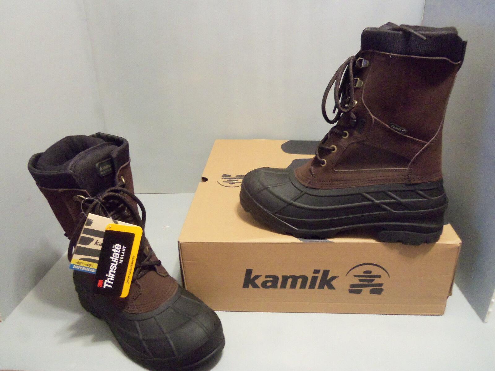 Kamik Nationwide Nation Men's Waterproof Winter Boots  SIZES NIB WK0117
