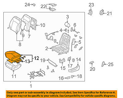 TOYOTA Genuine 71072-35243-B2 Seat Cushion Cover