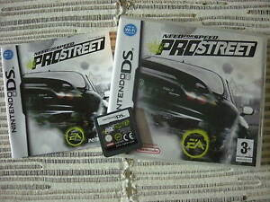 NINTENDO-DS-NEED-FOR-SPEED-PROSTREET-NEEDFORSPEED-PAL-ESPANA-USADO-BUEN-ESTADO