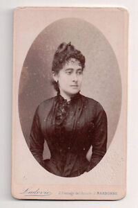 Vintage-CDV-French-Aristocratic-Woman-Ludovic-Photo-Narbonne