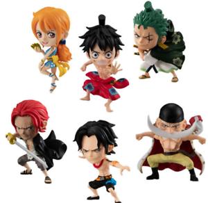 ONE PIECE ADVERGE MOTION Vol.2  6 Type set Japan import NEW ONEPIECE